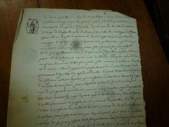 30 Fructidor An 7 De La République : ACTE Notarié De Mariage De Joseph Armieux  à Eguille (Bouches Du Rhône), Filigrane - Manuscrits