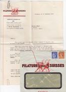 FILATURES DES 3 SUISSES - Werbung