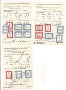 Strafportzegels Op 3 Formulien P333 O4905-'54. S'Hertogenbosch.incl 2 Paartjes 1,- + 1,75 - Portomarken