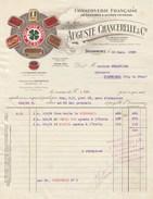 Finistère - Douarnenez - Auguste Chancerelle Et Cie - Conserverie De Sardines - Poissons - Thon - Pêche - 1928 - 1900 – 1949