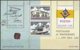 ALAND 1993 Mi-Nr. Block 2 ** MNH - Aland