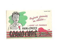 Buvard  Pain D'épices Grand Cassé - Gingerbread