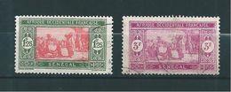 Colonie Timbres Du Sénégal  De 1927/33  N°107A Et 109 Oblitérés - Senegal (1887-1944)
