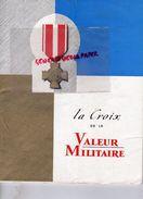 59-CONGRES VALENCIENNES-GUERRE 1939-1945-MILITARIA-LA CROIX GUERRE-N° 5-6-RAYMOND TRIBOULET-MAI 1961-HENRY MARTIN-CAROUS - War 1939-45