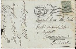 STORIA POSTALE REGNO - CARTOLINA ILLUSTRATA  04.02.1917  PER MILITARE FARNESINA ROMA - TARIFFA RIDOTTA - 1878-00 Umberto I