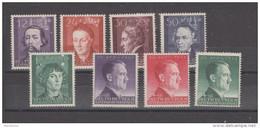 Allemagne ~ Pologne Gouvernement General  1942 N° 107 /114  Neuf *  Série Compléte - General Government