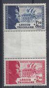 FR - 1942 - N° 565/566 A - Neufs - X - Traces De Charnières Très Discrètes -Cote 15.50 € - B/TB - - France