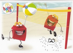 CARTOLINA PUBBLICITARIA - MCDONALD'S - HAPPY MEAL - McDonald's