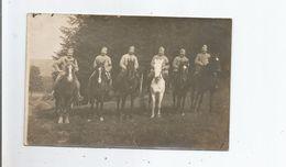MILITAIRES A CHEVAL CARTE PHOTO 1916 (GUERRE 1914 1918) - Weltkrieg 1914-18