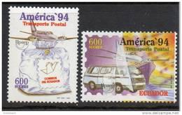 ECUADOR-  1994- UPAEP ** - YVERT 1316-1317- SCOTT 1352-1353 - MICHEL 2283-2284 - Equateur
