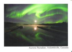 Aurora Paradise, Yellowknife, Northwest Territories, Canada - Yellowknife