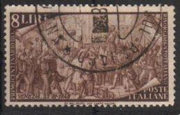 1948 - Rirorgimento - 8 Lire - Sassone 584 - 6. 1946-.. Repubblica