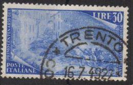 1948 - Rirorgimento - 30 Lire - Sassone 589 - 1946-60: Usati