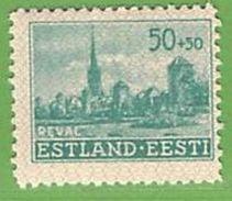 MiNr.7 Xx Deutschland Besetzte Gebiete II.WK Estland - Besetzungen 1938-45