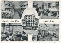 HEIST S/MER : Bar Restaurant Lion D'Or - RARE CPSM - Cachet De La Poste 1951 - Heist