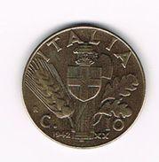 )  ITALIE  10 CENTESIMI  1942 - 1861-1946 : Royaume
