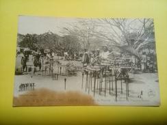 A.O.F. Dahomey - Abomey - Un Coin Du Marché - Vendeurs De Fétiches Divers - Dahomey