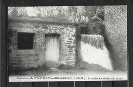 22 PISCICULTURE DE COAT MEN EN BOURBRIAC CUISINE DES ALEVINS ET CASCADE - Autres Communes