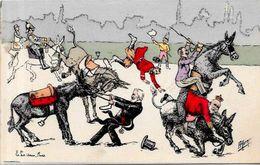 CPA Sucre Sugar Jacques Premier Lebaudy Sahara Ane Russie Kaiser Léopold II Satirique Caricature Non Circulé Marmonnier - Satirical
