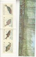 "1990 Belgium Belgique  Fish  Poisson Complete Booklet Carnet ""unexploded""  VF MNH BELOW FACE VALUE - Pesci"