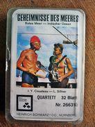 """Quartett """"Geheimnisse Des Meeres"""" Rotes Meer - Indischer Ozean 32 Blatt - Antikspielzeug"""