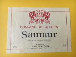 4699 - Saumur Domaine Du Falloux - Etiquettes