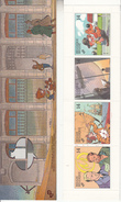 "1991 Belgium Belgique  Art Comics Bandes Desinee Complete Booklet Carnet ""unexploded""  VF MNH BELOW FACE VALUE - Cómics"
