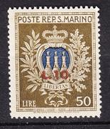 San Marino - 1946 - Pro Opere Assistenza Soprastampato - Sass. 297 ** - Nuevos