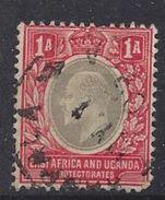 East Africa And Uganda Protectorates 1903-07 1a  (o) - Kenya, Uganda & Tanganyika