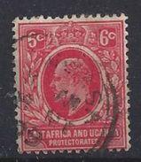 East Africa And Uganda Protectorates 1907-08 6c  (o) - Kenya, Uganda & Tanganyika
