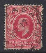 East Africa And Uganda Protectorates 1910 6c  (o) - Kenya, Uganda & Tanganyika