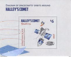 NIUAFO'OU - 2017 - Comète D'Halley - BF Neuf // Mnh - Tonga (1970-...)