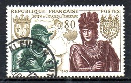 FRANCE. N°1616 Oblitéré De 1969. Louis XI/Charles Le Téméraire. - France