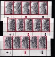 RSA, 1979, Mint Stamps In Control Blocks. Zulu War, MI Nr. 556-558,  X577 - South Africa (1961-...)