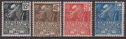 Exposition Coloniale De Paris - FRANCE - Femme Fachi - N° 270 à 272 ** - N° 273 * - 1930 - France
