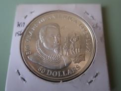 Cook Islands - 50 Dollars - 500 Years Of America 1990 - 1992 - Pedro De Valdivia - UNC - Cook