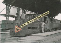 Loco 030T N°109 Des Tramways De La Sarthe, En Gare Centrale Du Mans (72) - - Gares - Avec Trains