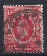 East Africa And Uganda Protectorates 1912-21  6c  (o) - Kenya, Uganda & Tanganyika