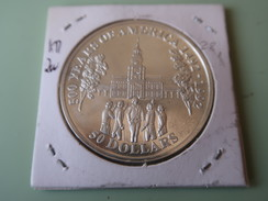 Cook Islands - 50 Dollars - 500 Years Of America 1990 - 1992 - Independence Hall - UNC - Cook