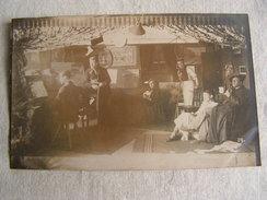 1 Carte Photo Ww1 Fritz Albrecht Camp Karlsruhe Allemagne Salon Piano Peintre Tableau N° 31 - Guerre 1914-18