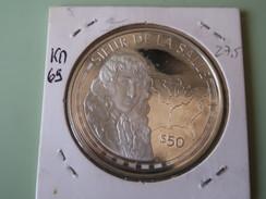 Cook Islands - 50 Dollars - 500 Years Of America 1990 - 1988- Sieur De La Salle - UNC - Cookinseln