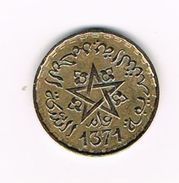 )  MAROKKO  10  FRANCS  1371 - Maroc