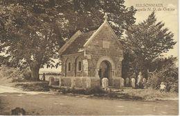 HULSONNIAUX : Chapelle N. D. De Grace - RARE VARIANTE - Cachet De La Poste 1937 - Houyet