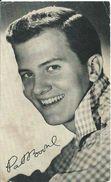 RB - Pat Boone - Niet Gelopen Kaart - Lot Nr. 768 - Autographes