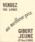 Buvard Gibert Jeune Vedez Vos Livres Au Meilleur Prix  ( Pliures ) 16 Cm X 21 Cm - G