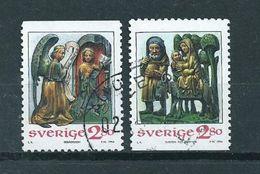 1994 Sweden Complete Set Christmas,kerst,noël,weihnachten Used/gebruikt/oblitere - Zweden