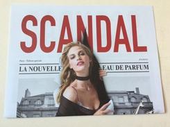 Journal JP Gaultier SCANDAL - Cartes Parfumées