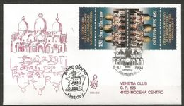 1994 BASILICA S. MARCO San Marino FDC VENETIA  Vg - FDC