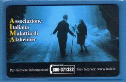 (4E) Italia** - GIORNATA MONDIALE Dell'Alzheimer- £ 5000 € 5,16- C&C.F. 3591 .  - . NUOVA.  Vedi Descrizione - Public Special Or Commemorative
