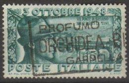 1948 - Ricostruzione Ponte Degli Alpini A Bassano Del Grappa - Sassone N. 592 - 1946-60: Used